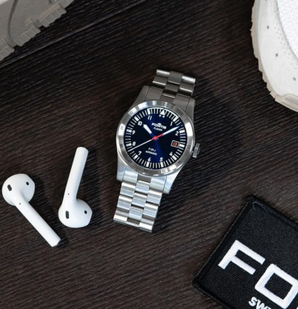The Fortis Flieger F-41 Automatic and the F-39 Automatic